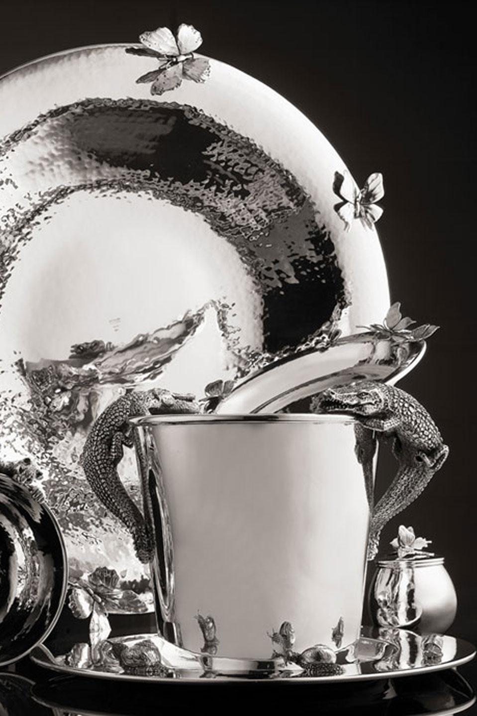 Giovanni Raspini. Cornici e gioielli in argento. Rizzuto Gioielleria a Sarzana (La Spezia)